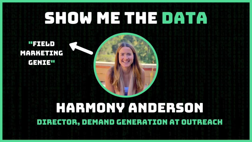 Harmony Anderson Show me the data