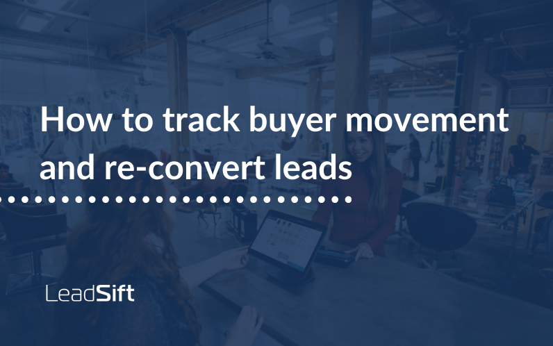 How to track buyer movement and re-convert leads
