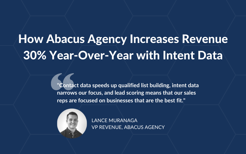 How Abacus Increases Revenue by 30% with Intent Data
